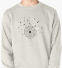 Music a dandelion Pullover Sweatshirt