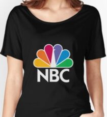 NBC Logo - White Women's Relaxed Fit T-Shirt