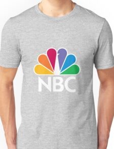 NBC Logo - White Unisex T-Shirt