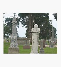 Headstones Photographic Print