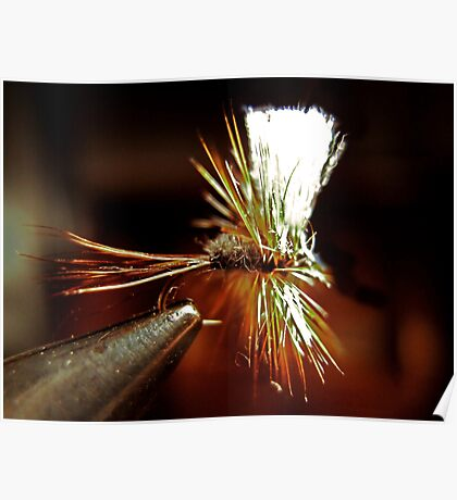 Hairwing Adams Dry Fly Poster