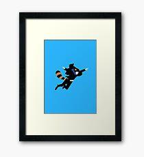 The Reichenbach Raccoon Framed Print