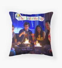 The Internship-Crew  Throw Pillow