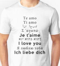 I Love You - Multiple Languages 2 T-Shirt