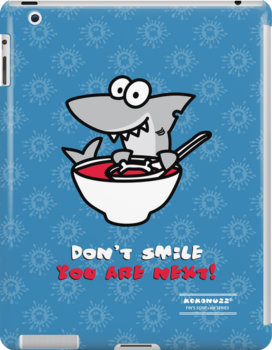 Fin's soup – Beware the shark by Kokonuzz