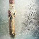 St Nicholas in the Snow by Ann Garrett