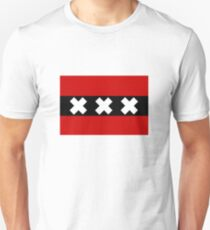 Flag of Amsterdam Unisex T-Shirt