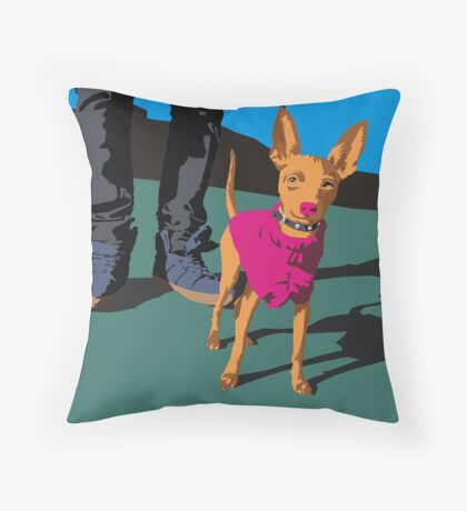 Muchacha  Throw Pillow