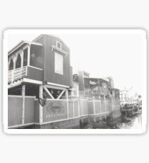 pacific wharf Sticker