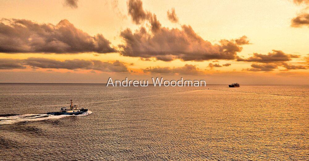 Port Villa tugboat by Andrew Woodman