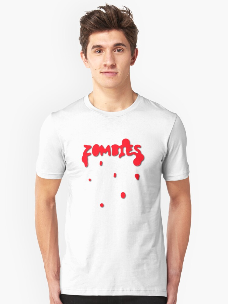 Zombies Unisex T-Shirt Front