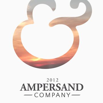 Ampersand Company Logo - Sunset by AmpersandCo