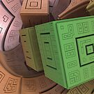 Traveling Cubes by thebeeper52