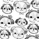 Shihtzu Pups by fluffymafi