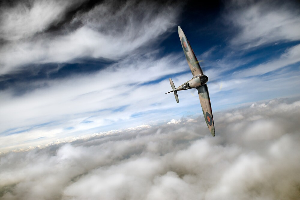Spitfire solo  by Gary Eason