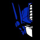 Optimus Prime (colored) by trilac