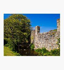 St Davids Abbey Walls Photographic Print