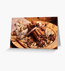 Christmas flavours Greeting Card