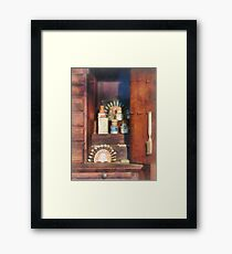 Dentist - Supplies For Making Dentures Framed Print