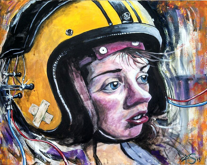God Helmet by Kirk Shelton
