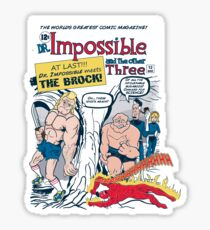 The Impossible 4 Sticker