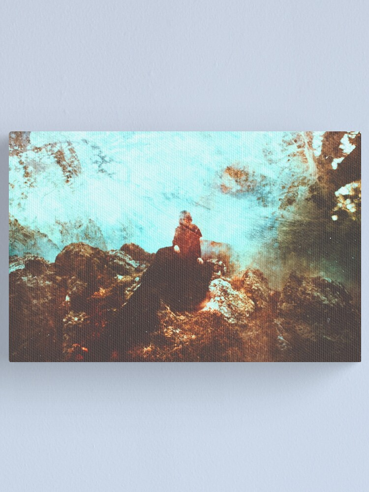 Alternate view of Le Souffle Canvas Print