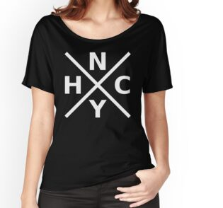 New York Harcore Logo - Black T-Shirt