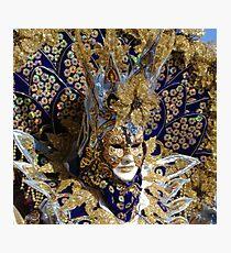Venetian peacock Photographic Print