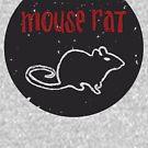 Maus Ratte T-Shirt | Parks und Erholung Leslie Knope Ron Swanson Bert Macklin FBI-Parks n Rec Pawnee Indiana Fernsehshow-T-Shirt T-Stück britisches USA-Geschenk von Tee Dunk