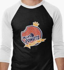 Dilla's Donut Baseball ¾ Sleeve T-Shirt