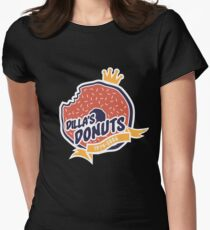 Dilla's Donut Women's Fitted T-Shirt