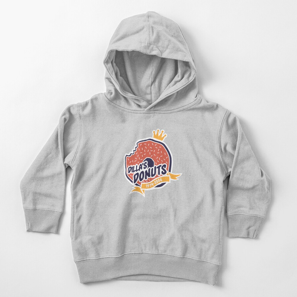 Dilla's Donut Toddler Pullover Hoodie