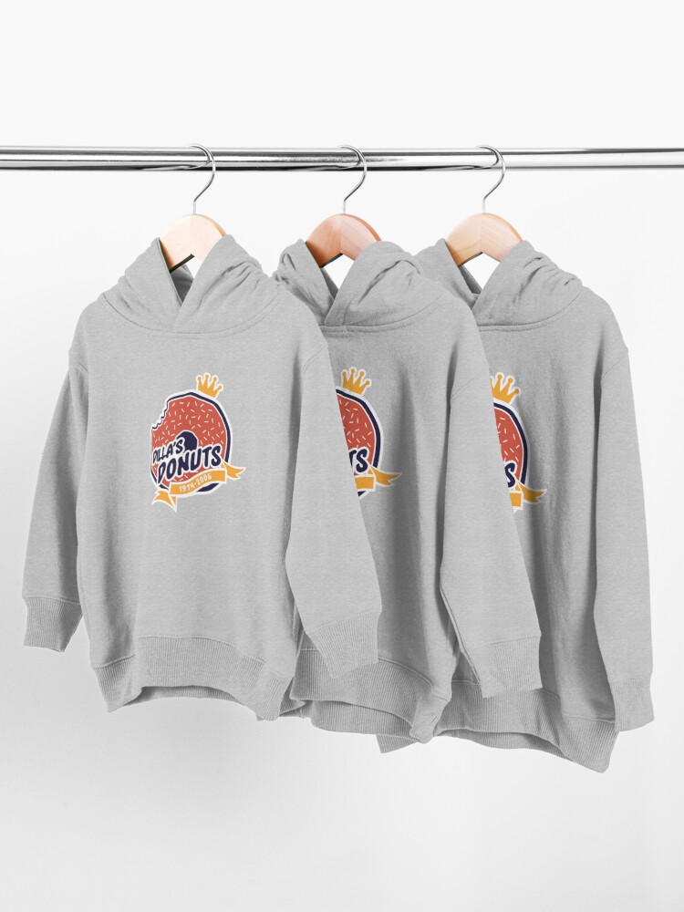 Alternate view of Dilla's Donut Toddler Pullover Hoodie