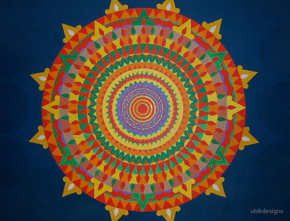 Mandala by ubikdesigns