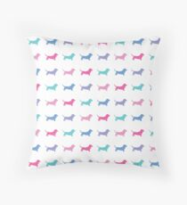 A Pack of Dogs Throw Pillow