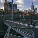 Panorama of Melbourne taken on an iphone 5 by grorr76