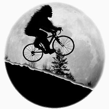 Bigfoot Rides! by Gypsybilla