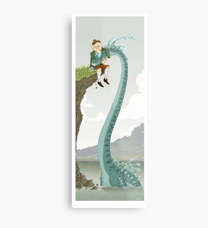 Loch Ness buddies Metal Print