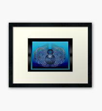 ©DA In Movement Fractal Framed Print