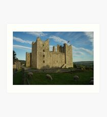 Bolton Castle North Yorkshire Dales Art Print
