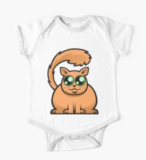 Ginger Cat One Piece - Short Sleeve