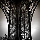 Eiffel Detail by KarenLindale
