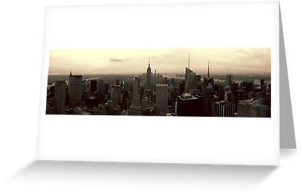 Manhattan Morning by Mark Wilson