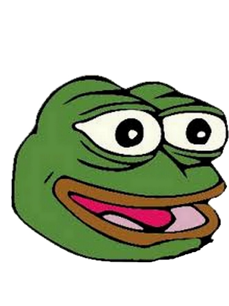 """""""FeelsGoodMan - Happy Pepe The Frog :)"""" by TheBarriee ..."""