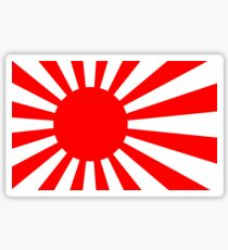 Rising Sun Flag of Japan Sticker