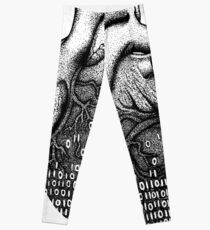 Binary Heart  Leggings