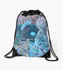 Spirit of Surrender Drawstring Bag