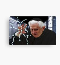 Palpatine Pope Canvas Print