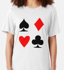 Poker Suite Slim Fit T-Shirt
