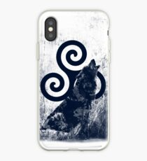 Triskele and Wolf iPhone Case